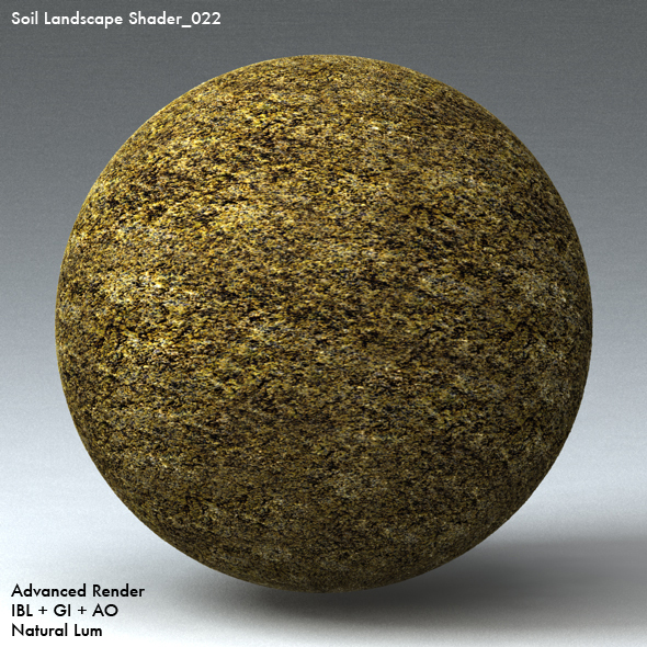 Soil Landscape Shader_022 - 3DOcean Item for Sale