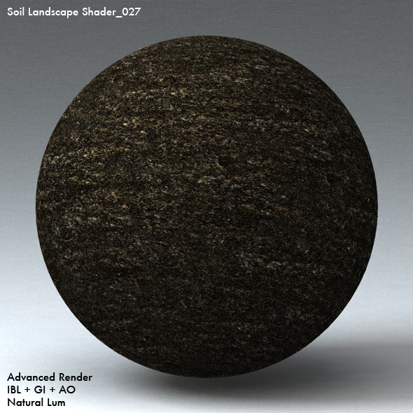 Soil Landscape Shader_027 - 3DOcean Item for Sale