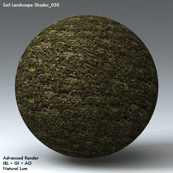 Soil Landscape Shader_030 - 3DOcean Item for Sale