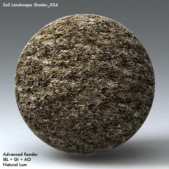 Soil Landscape Shader_034 - 3DOcean Item for Sale