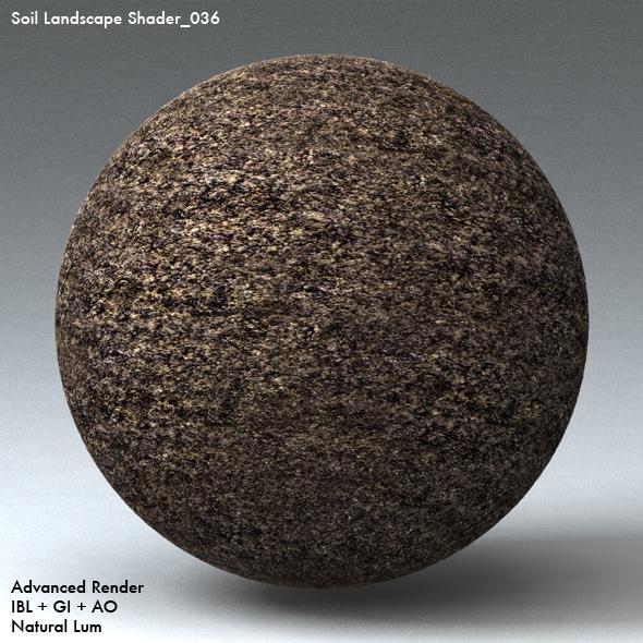 Soil Landscape Shader_036 - 3DOcean Item for Sale
