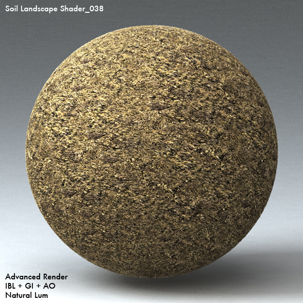 Soil Landscape Shader_038 - 3DOcean Item for Sale