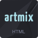 Artmix - Responsive Retina Ready One Page Template
