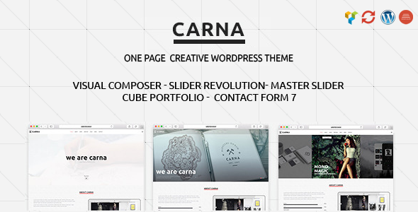 18 - Carna | Responsive Multi-Purpose WordPress Theme