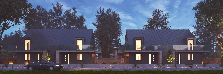 Vray Night Scene - endering Modern House by VisualG 3DOcean - ^