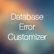 DB Error Customizer - Manage Database Error Professionally