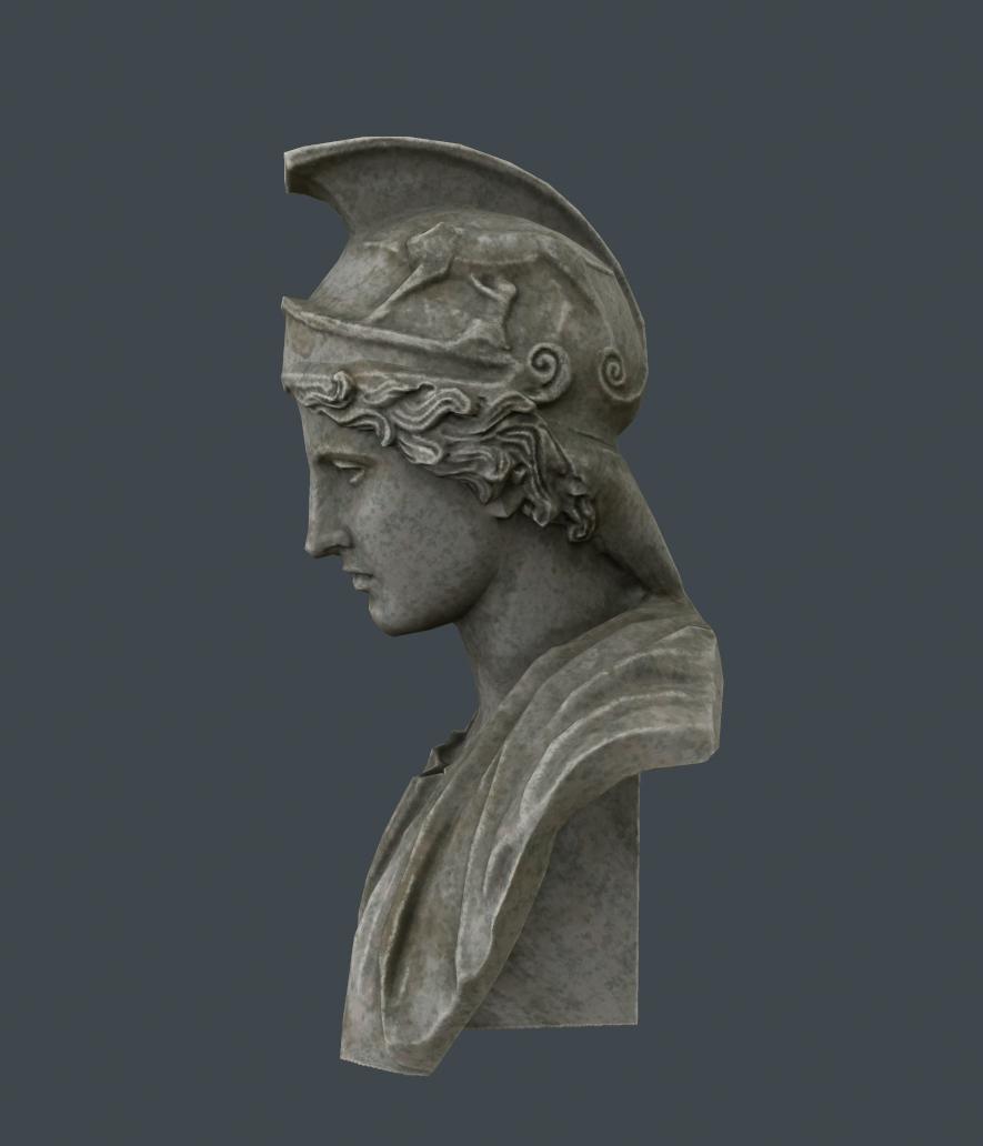 Athena Bust By Valtum 3docean
