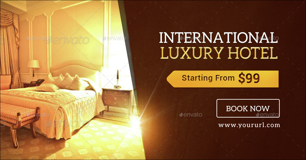 luxury hotel banners by doto graphicriver
