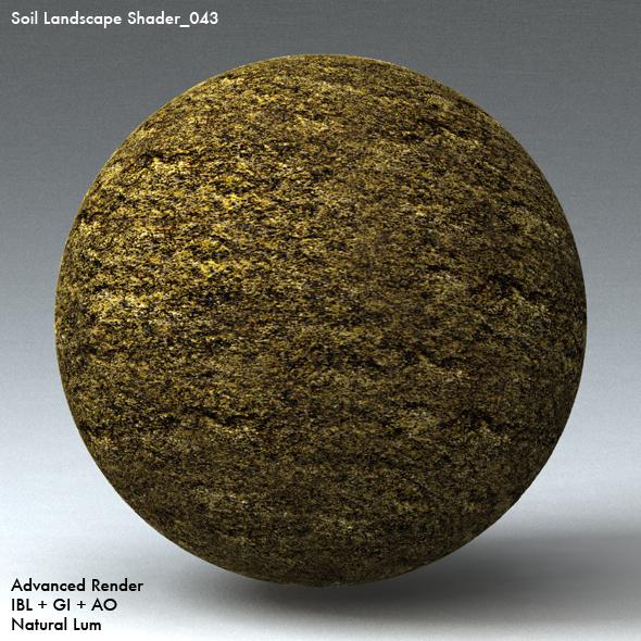 Soil Landscape Shader_043 - 3DOcean Item for Sale