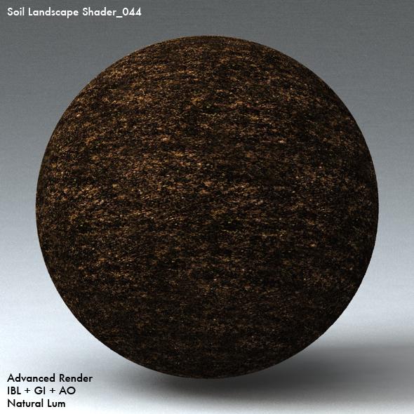Soil Landscape Shader_044 - 3DOcean Item for Sale
