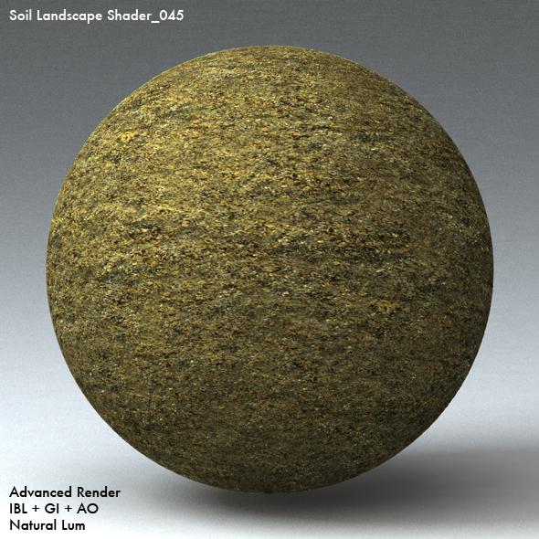 Soil Landscape Shader_045 - 3DOcean Item for Sale