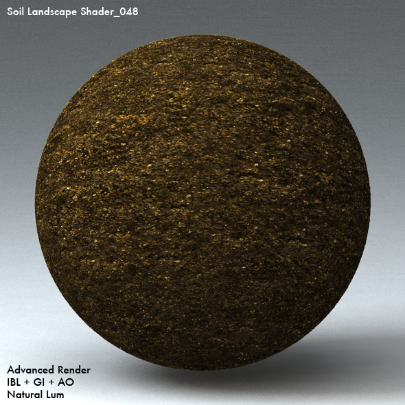 Soil Landscape Shader_048 - 3DOcean Item for Sale