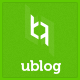 UBlog - Responsive WordPress Theme for Bloggers