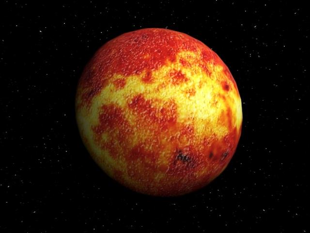 3DOcean Planet Mercury 1471538
