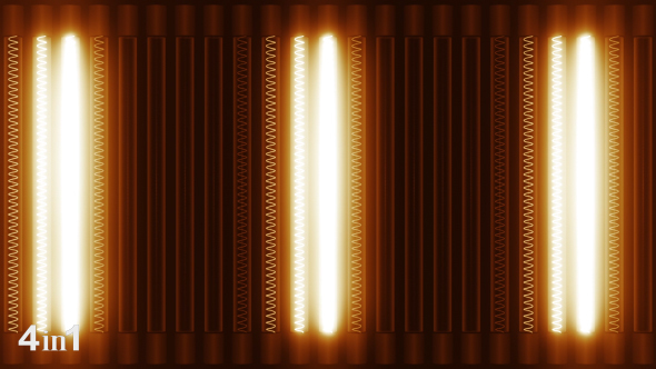 VideoHive Lights Panel 4-Pack 14725297