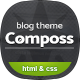 Composs - Elegant Blog, Magazine & News HTML Template
