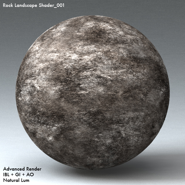 Rock Landscape Shader_001 - 3DOcean Item for Sale