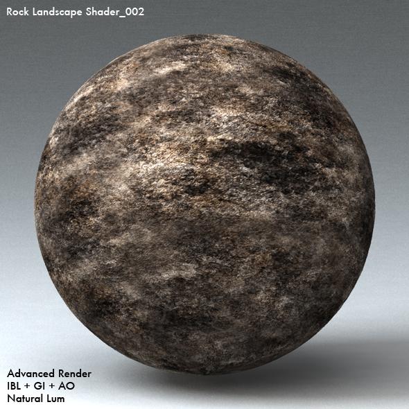 Rock Landscape Shader_002 - 3DOcean Item for Sale