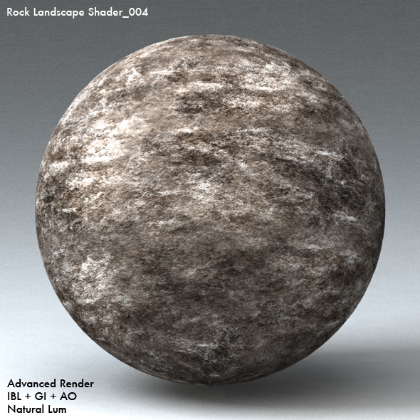 Rock Landscape Shader_004 - 3DOcean Item for Sale