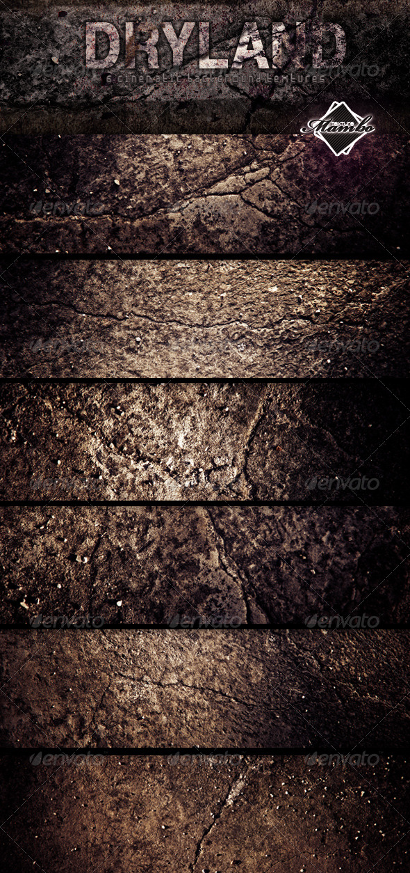 Dryland - Cinematic Background textures - Industrial / Grunge Textures