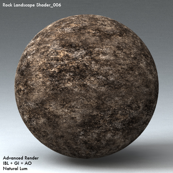 Rock Landscape Shader_006 - 3DOcean Item for Sale