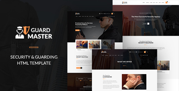 GUARD MASTER - HTML Responsive Multi-Purpose Template