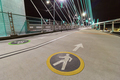 Cyclist and Pedestrian Lanes on Tilikum Crossing Bridge