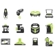 Kitchen Utensils Icon Set