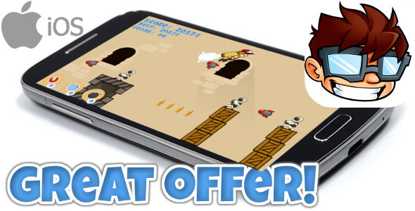 Jetpack game iOS +IN APP PURCHASE +Admob // iAds +MORE! - CodeCanyon Item for Sale