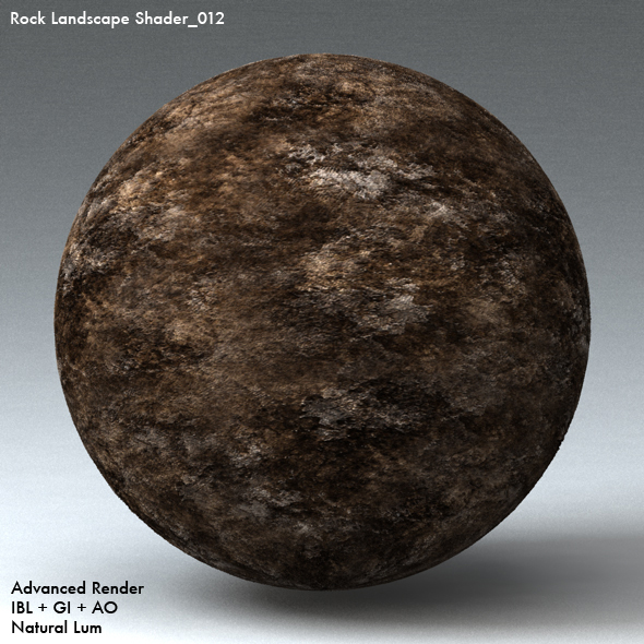 Rock Landscape Shader_012 - 3DOcean Item for Sale