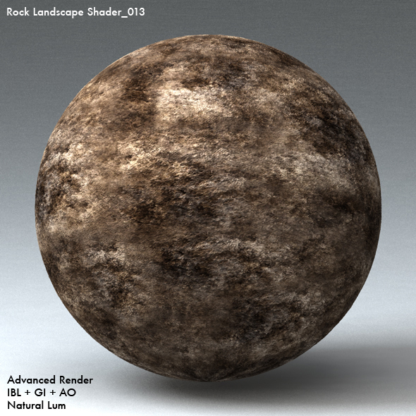 Rock Landscape Shader_013 - 3DOcean Item for Sale