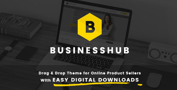 Business Hub | Responsive WordPress Theme For Online Business