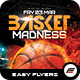 Basket Madness Flyer Template