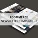 Ecommerce - Newsletter Template v2