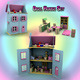 Doll House Set 01 - 3DOcean Item for Sale