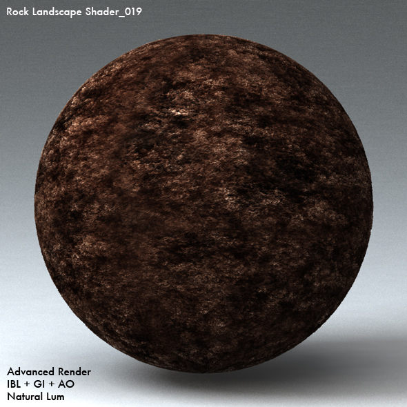 Rock Landscape Shader_019 - 3DOcean Item for Sale