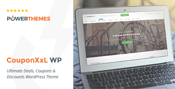 19 - CouponXxL - Deals, Coupons & Discounts WP Theme