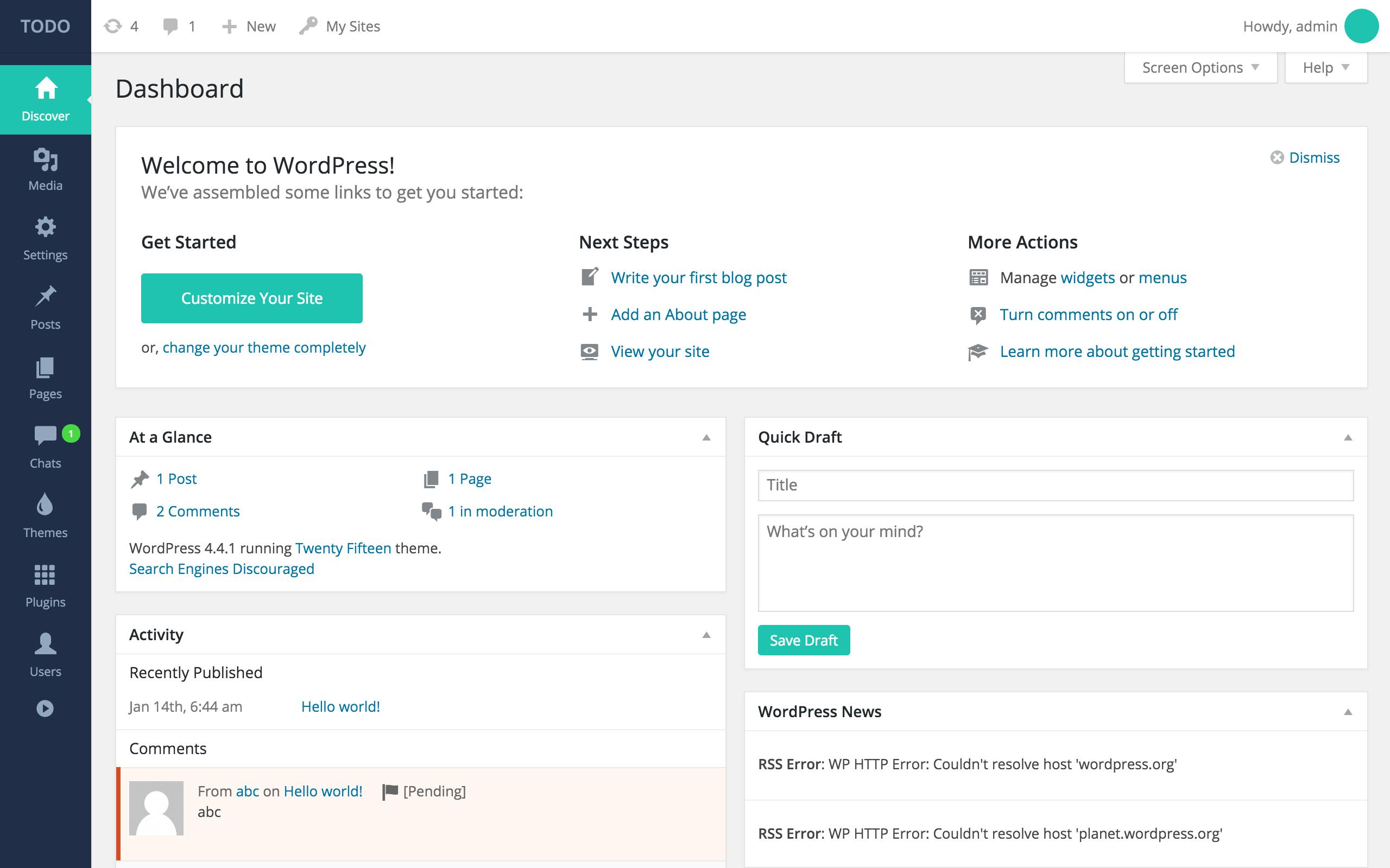 Wp Login: Wordpress Admin Theme & Login Page