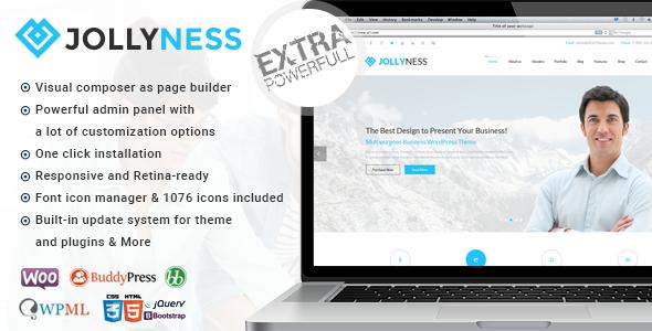 Jollyness - Multi Purpose WordPress Theme