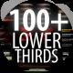 Lower Thirds - Ultimate Bundle 100+