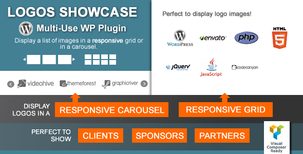 Logos Showcase - Multi-Use Responsive WP Plugin