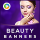 HTML5 Health & Beauty Banners - GWD - 7 Sizes