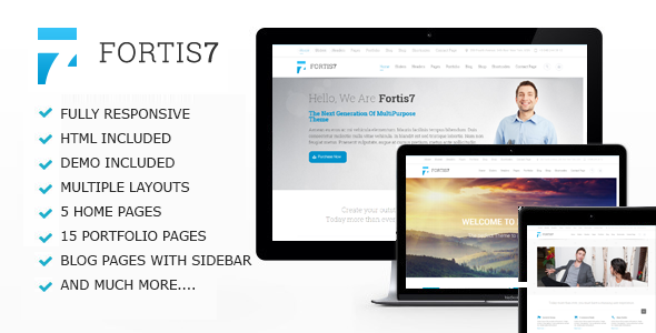 preview.  large preview - Fortis7 - Responsive Multi-Purpose Theme