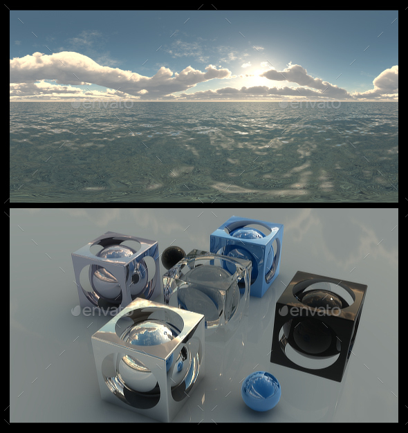 Ocean Bright Day 8 - HDRI - 3DOcean Item for Sale