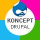 Koncept - Responsive Multi-Concept Drupal Theme