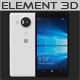 Element 3D Microsoft Lumia 950 XL White
