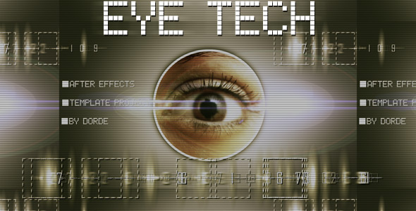 After Effects Project - VideoHive Eye Tech 174779