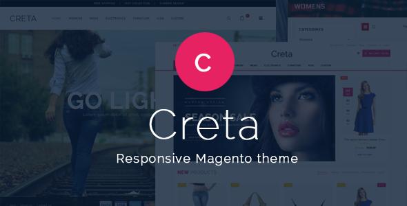 Creta Beauty Store - Magento Responsive Theme