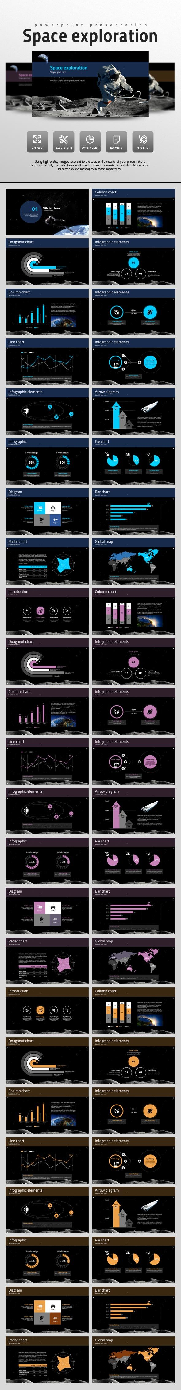 Space Exploration (PowerPoint Templates)