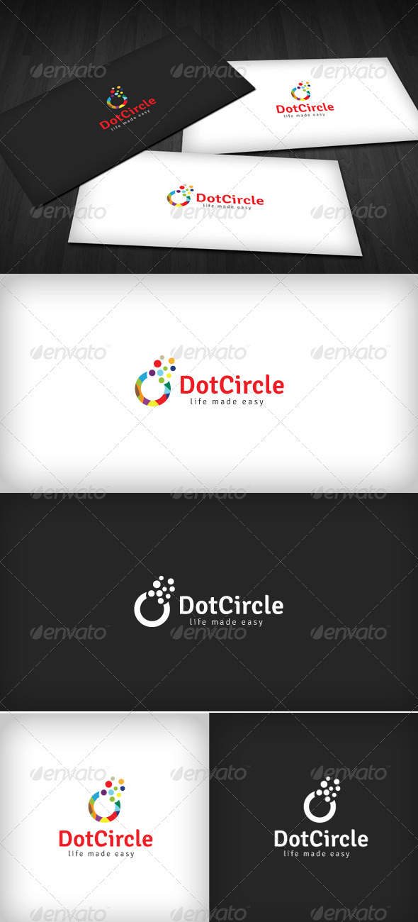 GraphicRiver Dot Circle Logo 1474550